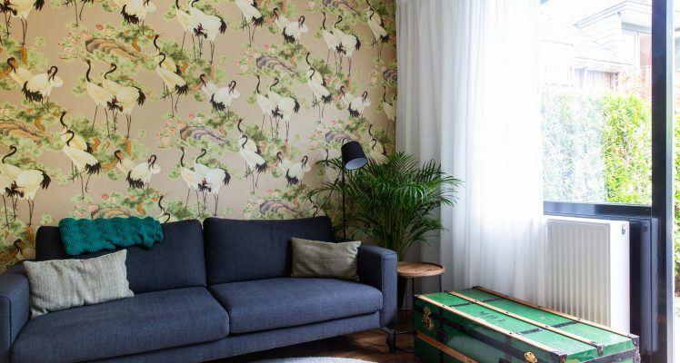 Groen appartement